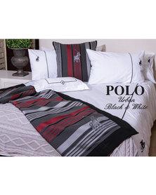 Polo Urban Duvet Cover Set Black & White