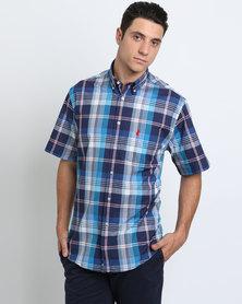 Polo Weekender SS Shirt Blue