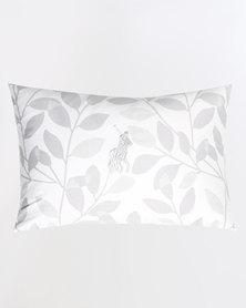 Polo Aspen Leaf Mini Pillow Grey