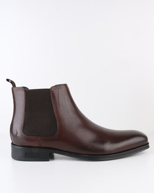 Polo Mens Ankle Boot Choc