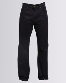 Polo Mens Clark Stretch 5 Pocket Chino Navy