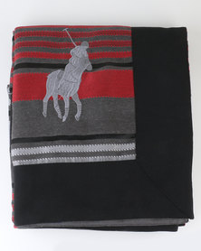 Polo Urban Stripe Throw Multi