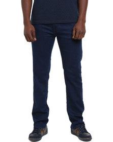 Polo Men's Stretch Stephan Straight Leg Jeans Blue