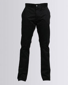 Polo Frank Formal Stretch Chino Black