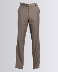 Polo Mens Cooper Formal Trouser Khaki
