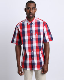 Polo Weekender Short Sleeve Shirt Red