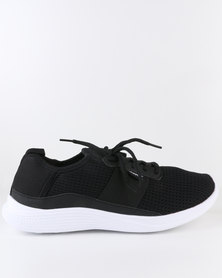 Power Glide Fog Trainers Black