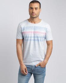 Pride & Soul Dandre T-Shirt Ice Light Blue