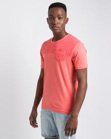Pride & Soul Reuban Deep Coral T-Shirt