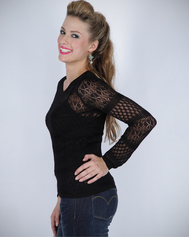 Pull-It PA Knitted Sweater Black