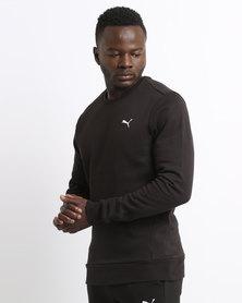 Puma Essential Crew Sweater FL Black