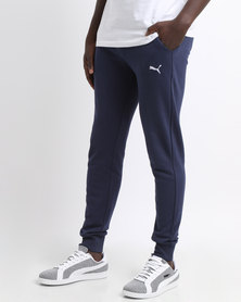 Puma Essential Sweat Pants Slim TR-cl Blue