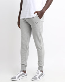 Puma Essential Sweat Pants Slim TR-cl Grey