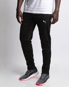 Puma Mens Tricot Slim Leg Pants Black