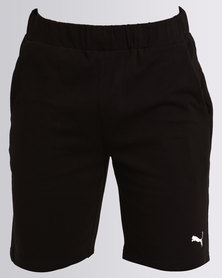 "Puma Essential Jersey Shorts 9"" Black"
