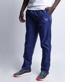 Puma Mens Woven Pants II Blue