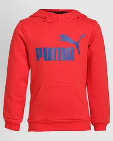 Puma ESS No1 Hoody FL Red