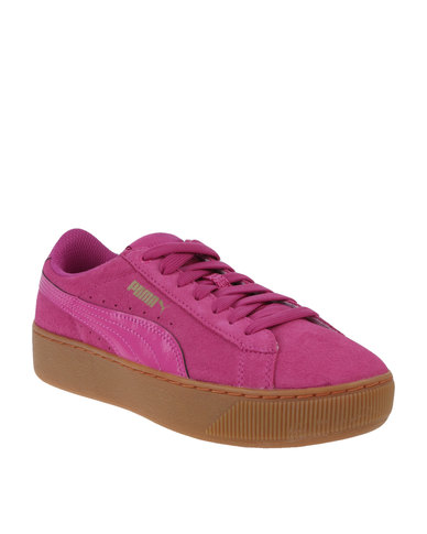 Puma Vikky Platform Rose Violet