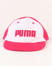 Puma Minicats Flatbrim Cap Pink