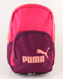 Puma Phase Small Backpack Pink & Purple
