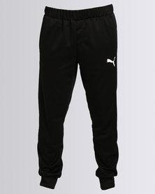 Puma Tapered Flash Tricot Pants Black