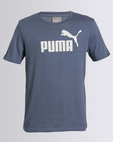 Puma ESS No-1 Tee Blue