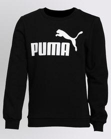 Puma ESS No1 Crew Sweatshirt FL Puma Black