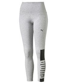 Puma Style Rebel Leggings W Light Gray Heather