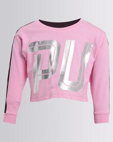 Puma Sportstyle Crew Sweat TR G Pink