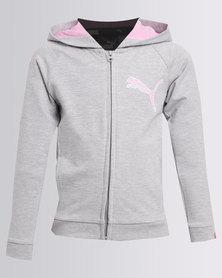 Puma Style FZ Hoody YG Grey