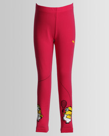 Puma Minions Leggings Red