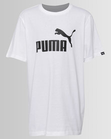Puma Essential Number 1 Tee White