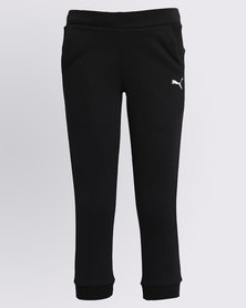 Puma ESS Sweat Pants Black