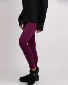 Puma Essentials No.1 Leggings Dark Purple