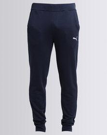 Puma Essentials Sweat Pants Slim -TR-cl Navy Blue