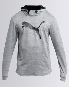 Puma Performance Tech Fleece Hoodie Grey