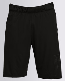 Puma Performance Motion Flex 10 Graphic Shorts Black