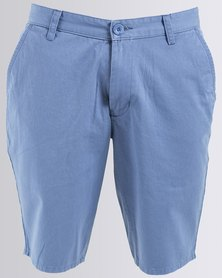 Quiksilver Everyday Chino 20 Inch Shorts Blue