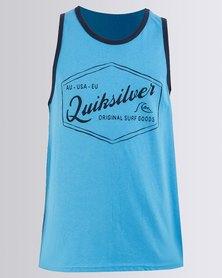 Quiksilver Boys Fernandos Vest Blue