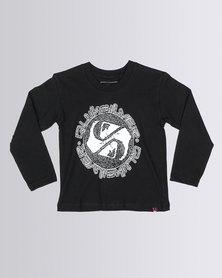 Quiksilver Tods Ghetto Boy T-Shirt Black