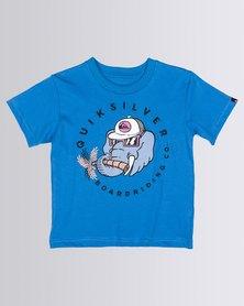 Quiksilver Tods Bobo T-Shirt Blue