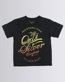 Quiksilver Tods Extension T-Shirt Black
