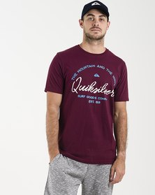 Quiksilver Hero Bay Short Sleeve  T-Shirt