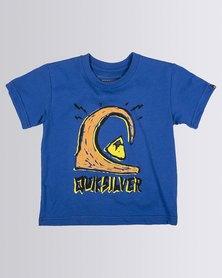 Quiksilver Tods Logololo T-Shirt Blue