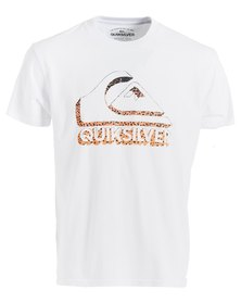 Quiksilver All In Short Sleeve T-Shirt White