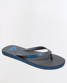 Quiksilver Molokai Flip Flops Grey