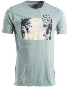Quiksilver Palm Tab Printed T-Shirt