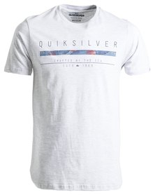 Quiksilver Static T-Shirt White