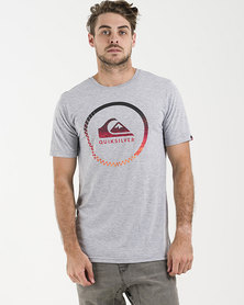 Quiksilver Active Logo T-Shirt Grey