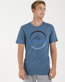 Quiksilver Active Logo T-Shirt Blue